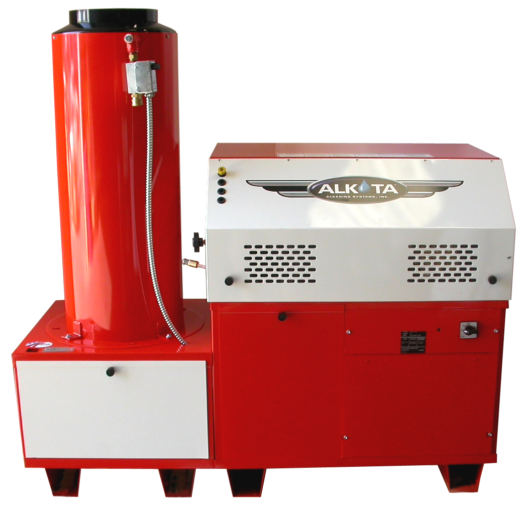 Alkota Gas Fired Hot Water Pressure Washer 4201