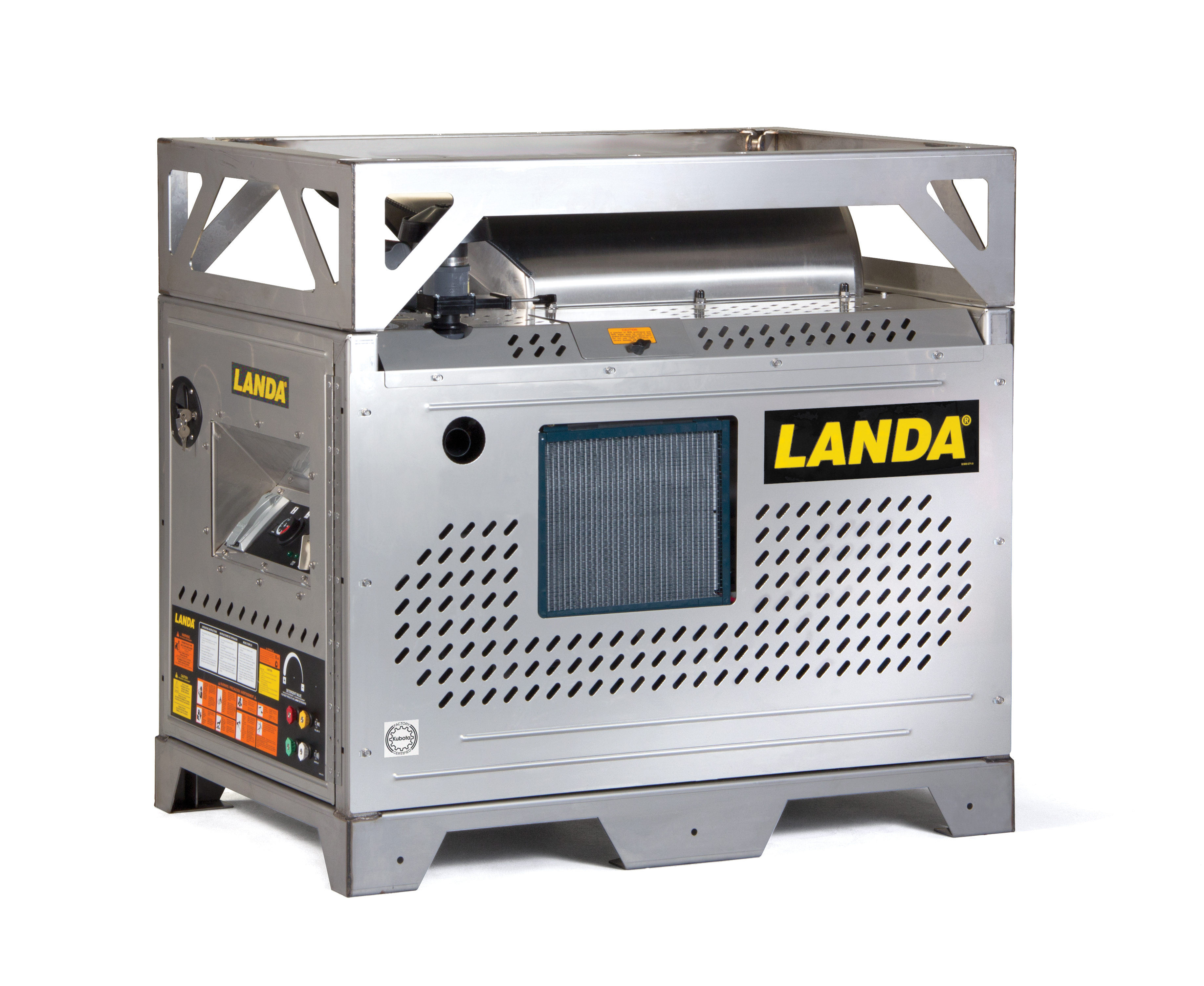 Landa Oil Fired Hot Water Pressure Washer PDHW5-35624E/SS