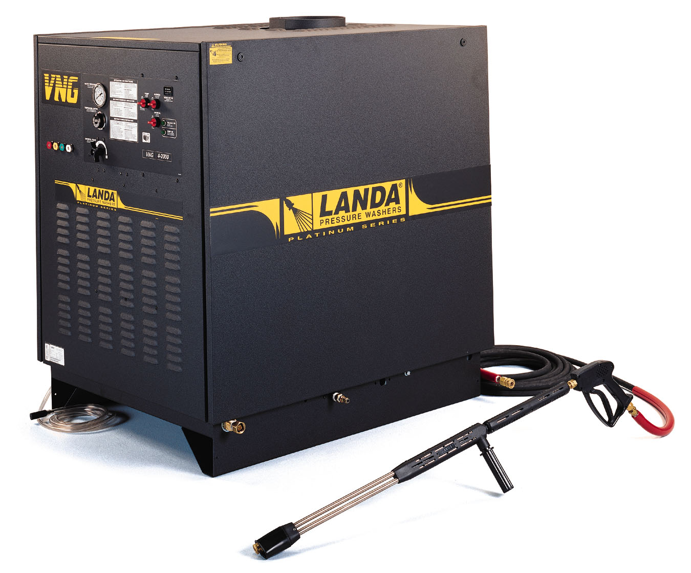 Landa Oil Fired Hot Water Pressure Washer VNG4-20024A